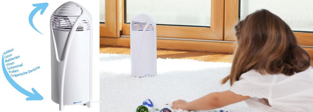 Wie AirFree Unreinheiten der Luft reinigt