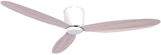 Airfusion Radar Deckenventilator weiß/eiche