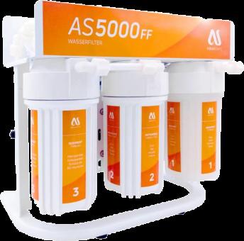 AQUASAFE AS5000FF 5-stufige Umkehrosmose-Anlage mit Direktfluss