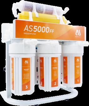 AQUASAFE AS5000FF 7-stufige Umkehrosmose-Anlage mit Direktfluss