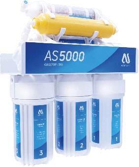 AQUASAFE AS5000 7-stufige Umkehrosmose-Anlage mit Tank