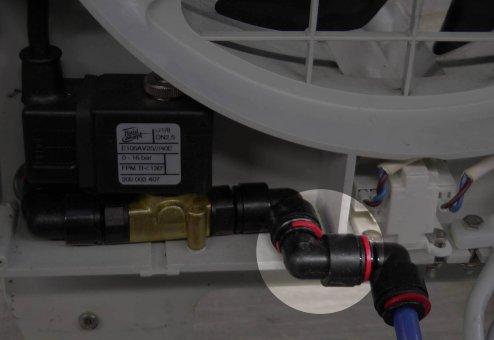 Brune B300 Einsteck-Winkelverbinder 8 mm
