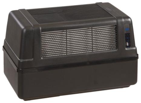 Brune B 120 mit BIO-Filter in schwarz