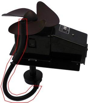 Brune B500 gerippter schwarzer Pumpenschlauch