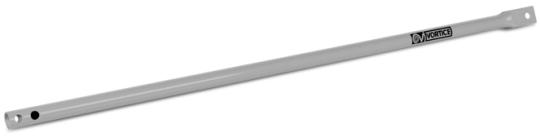 Deckenstange für NORDIK-Modelle lack silber 22029