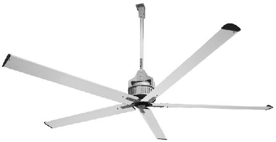 Deckenventilator Vortice NORDIK HVLS SUPERBLADE 600