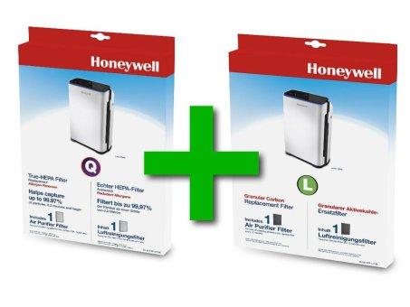 HEPA- und Aktivkohle-Filter Set für Honeywell HPA710WE