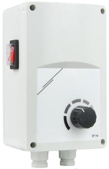 Regelgerät STL10 2300W mit Dimmer für IR-Heizstrahler