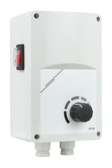 Regelgerät 3200W mit Dimmer für IR-Heizstrahler