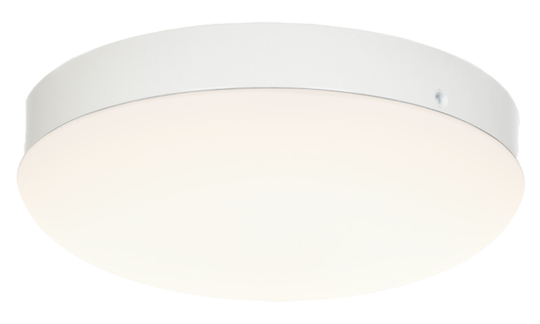 Leuchte für CasaFan Deckenventilator, EN5R-LED WE, gewölbt