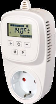 Chronothermostat XTS16 Schukostecker