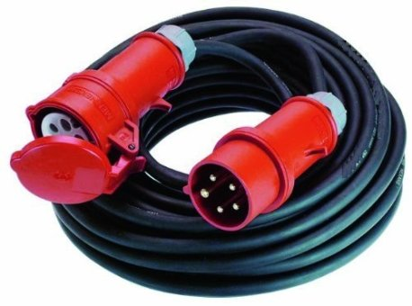 5m Starkstrom Verlängerungskabel (400 Volt / 32 Ampere)