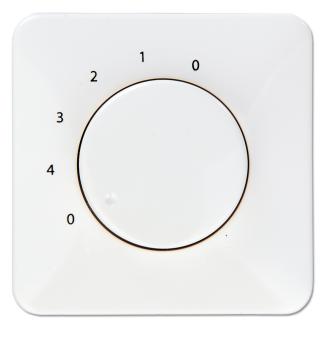 ST4-150 II 4-Stufen-Drehzahlsteller für Ventilatoren ohne Lichtschalter