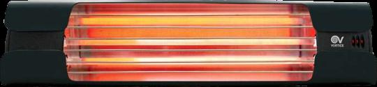 Infrared radiant heater Thermologika Design matt anthracite