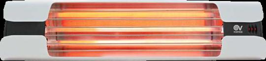 Infrarot Heizstrahler Thermologika Design weiß mattiert