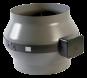 Vortice Rohrventilator CA100-MD Stahlgehäuse